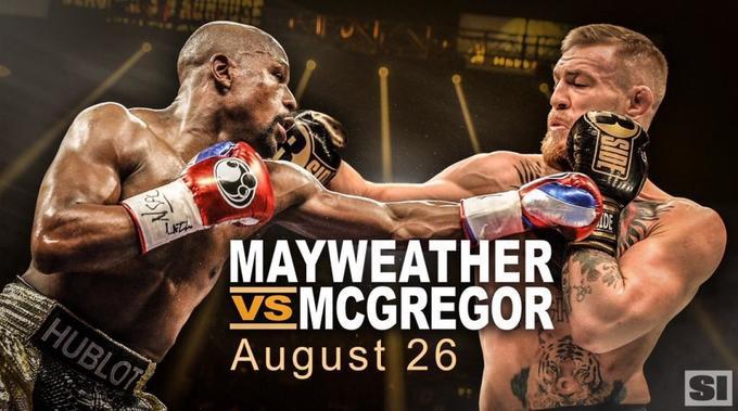 Trận Mayweather - McGregor gây sốt như thế nào