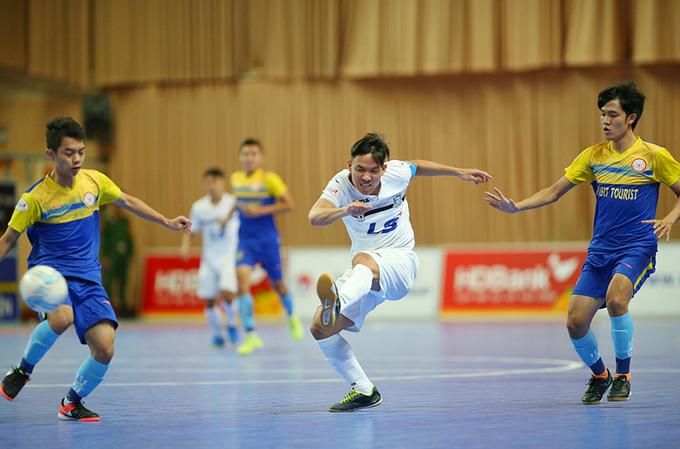 Thái Sơn Nam lần thứ bảy vô địch fusal quốc gia