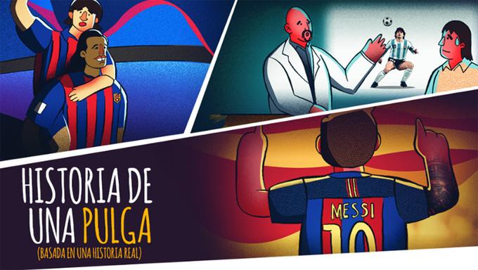 Sự nghiệp của Messi lên truyện tranh