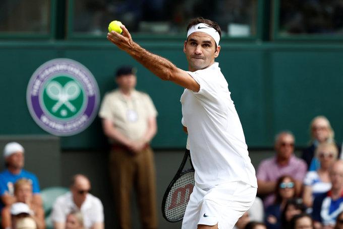 Tám anh tài hội ngộ ở tứ kết đơn nam Wimbledon