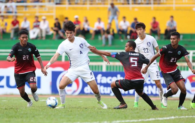 Hàn Quốc bị Đông Timor cầm chân