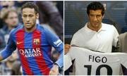 Cựu Chủ tịch Barca: 'Neymar ra đi theo cách hệt như Figo'