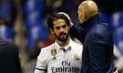 Isco làm khó Zidane khi lên đội hình đá El Clasico