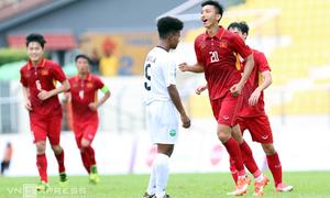 Cầu thủ lập cú đúp cho Việt Nam suýt không được dự SEA Games 2017