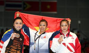 Phương Giang nhớ đến người cha quá cố khi giành HC vàng SEA Games