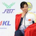 Ánh Viên xúc động khi nhận HC vàng đầu tiên ở SEA Games 29