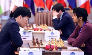Quang Liêm và hai cao thủ dừng bước ở vòng hai Cup Thế giới