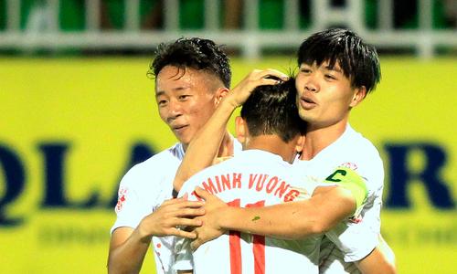 HAGL đại thắng, Thanh Hoá bại trận ở V-League