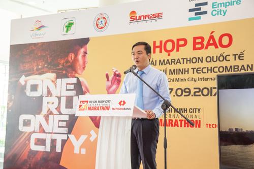 Ông Bùi Tá Hoàng Vũ - Giám đốc Sở Du Lịch TP HCM kỳ vọng giải thu hút nhiều du khách để góp phần quảng bá du lịch TP HCM.