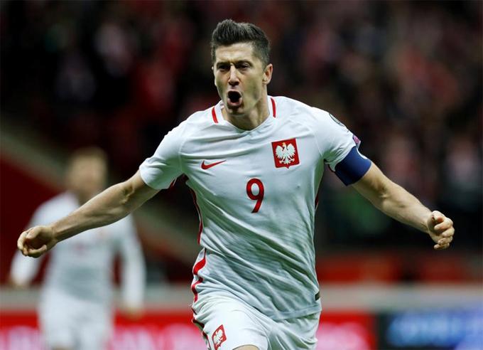 Năm ngày đầy ắp niềm vui của Lewandowski