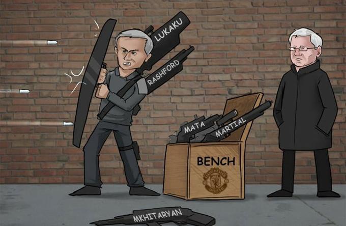 Mourinho thích 'lá chắn hơn súng đạn'