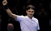 Federer thắng dễ Jack Sock ở trận ra quân ATP Finals