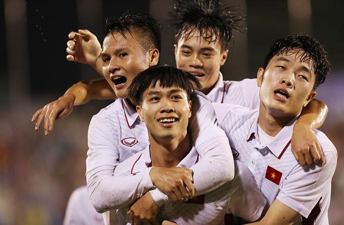 2017 - năm đại thắng của bóng đá Việt Nam cấp châu lục