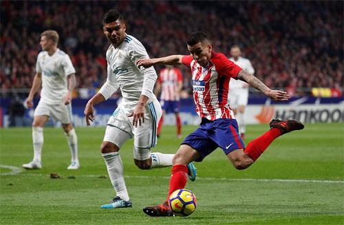 Hòa Atletico, Real chịu kém 10 điểm so với Barca