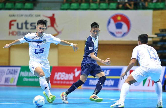 Thái Sơn Nam đoạt Cup Quốc gia futsal 2017
