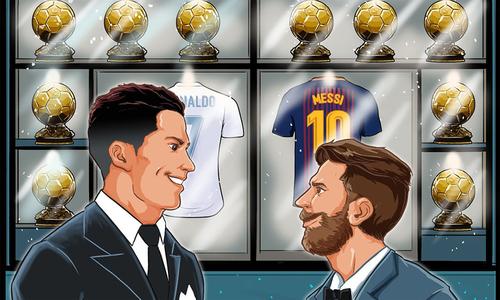 Ronaldo - Messi và một thập niên thống trị Quả Bóng Vàng