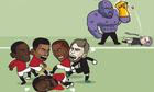 Lukaku bị 'đánh hội đồng' sau trận thua Man City