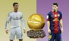 Ronaldo - Messi và 10 năm đua tranh Quả Bóng Vàng
