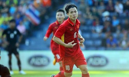 Việt Nam 2-1 Thái Lan (hiệp hai): Công Phượng lập cú đúp