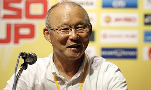 HLV Park Hang-seo: 'Tôi mất cả ngày để tìm cách đánh bại Thái Lan'