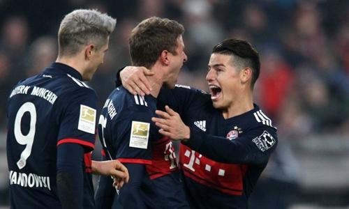 Bayern thắng nhờ bàn đầu tiên sau hai tháng của Muller