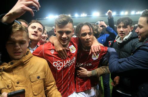 Bristol City làm nên điều kỳ diệu ở Cup liên đoàn sau khi loại bốn đội ở Ngoại hạng Anh. Ảnh:PA.