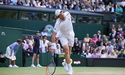 Ngày trở lại của Murray cóthể bị trì hoãn do chấn thương. Ảnh: AFP.