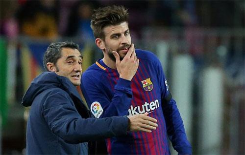 Valverde muốn có kết quả tốt hơn so với hai trận El Clasico hồi tháng 8. Ảnh: Reuters