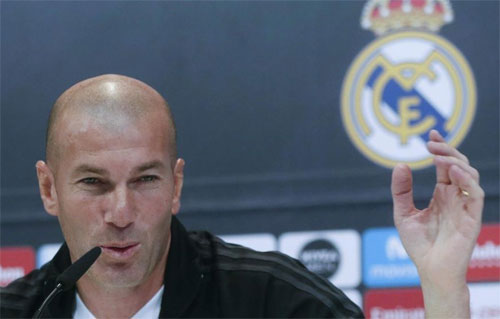 Zidane và Real đã sẵn sàng tiếp đón Barca. Ảnh: DS
