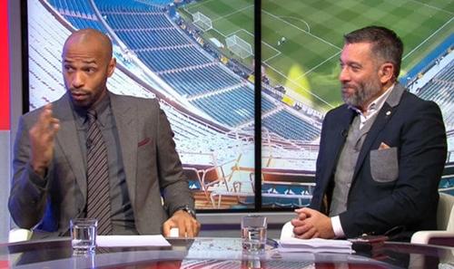 Thierry Henry tin rằng Messi được chơi tự do hơn khi Neymar ra đi. Ảnh: Sky Sports.