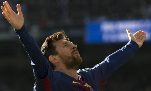 Messi củng cố danh hiệu Ông vua El Clasico. Ảnh: AFP.