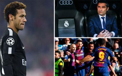 Sự ra đi của Neymar khiến Barca phải tự thay đổi.