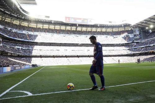 Thời gian đi bộ của Messi nhiều gấp bốn lần chạy.