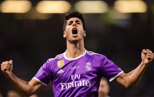 Asensio để lại dấu ấn và vô địch Champions League khi mới 21 tuổi. Ảnh: Reuters