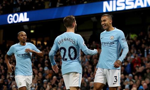 Những cầu thủ dự bị như Bernado Silva và Danilo đang giúp Man City thi đấu tốt khi vào giai đoạn khắc nghiệt nhất mùa giải. Ảnh: MCFC.