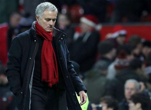 Mourinho chưa hài lòng về những gì đang có trong tay. Ảnh: Reuters