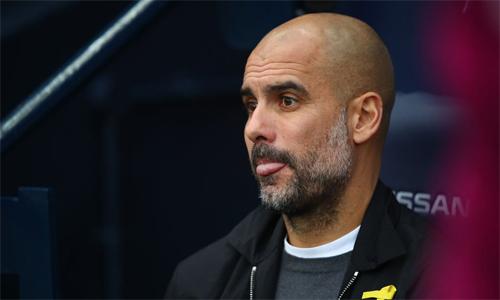 Guardiola rất tự tin về yếu tố thể lực cũng như lực lượng ông đang có tại Man City. Ảnh: Squawka.