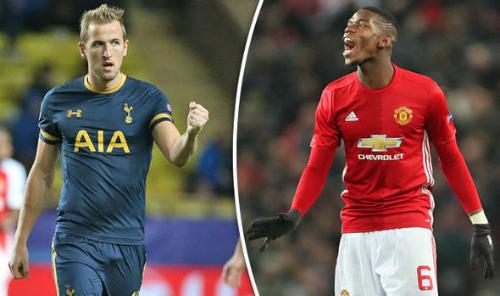 Kane đang nhận mức lương thua xa Pogba. Ảnh:AFP.