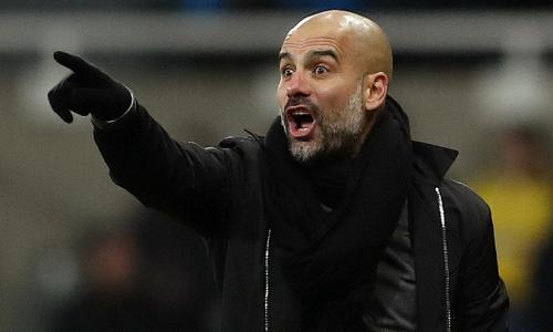 Guardiola trách Newcastle không muốn chơi bóng. Ảnh: Reuters.