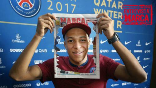 Mbappe là phát hiện của năm 2017. Ảnh: Marca.