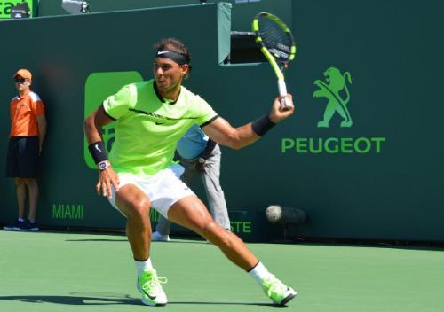 Australia Mở rộng sẽ là giải đầu tiên của Nadal năm 2018. Ảnh: AP.