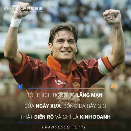 Totti: Messi là số một, nhưng đừng nói với Ronaldo - 1