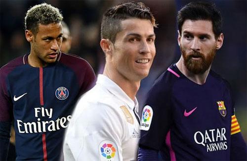 Messi đang có giá trị thị trường tới 215 triệu.