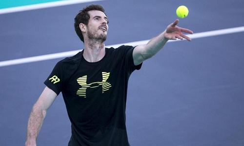 Murray đã thi đấu trở lại nhưng chưa hoàn toàn bình phục chấn thương. Ảnh: AFP.