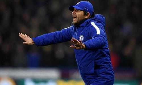 Conte cho rằng Ngoại hạng Anh là giải đấu có tính cạnh tranh cao. Ảnh: PA.