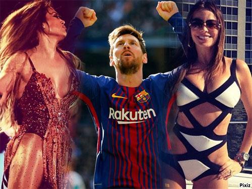 Bóng đá giúp Messi kiếm nhiều tiền hơn các ca sĩ và diễn viên Nam Mỹ.