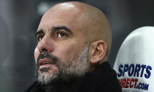 Guardiola chỉ quan tâm đến phong độ, thay vì giá chuyển nhượng của cầu thủ. Ảnh: PA.