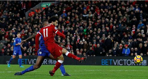 Salah ghi bàn thắng ấn định tỷ số. Ảnh:Reuters.