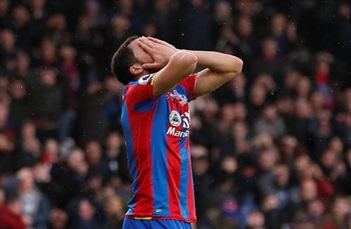 Crystal Palace có lý do để tiếc nuối khi chỉ có một điểm trước Man City. Ảnh: Reuters.