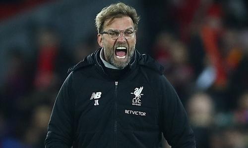 Klopp khen ngợi tinh thần chiến đấu của học trò. Ảnh: Liverpool FC.